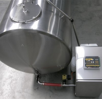 Stainless steel tank CIP SYSTEMS by Barry Brown & Sons in Victoria