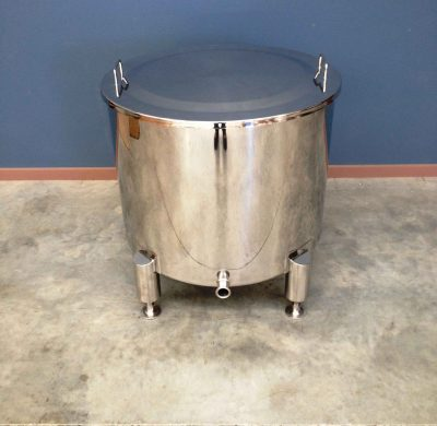 250lt Single Skin Stainless Steel Tank by Barry Brown & Sons in Victoria
