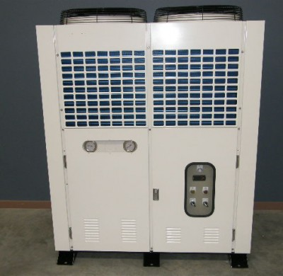 New 23KW Air Cooled Water Chiller Front View by Barry Brown & Sons in Victoria