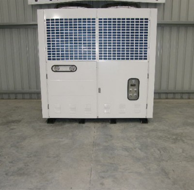Stainless Steel Tank New 34KW Air Cooled Water Chiller by Barry Brown & Sons in Victoria