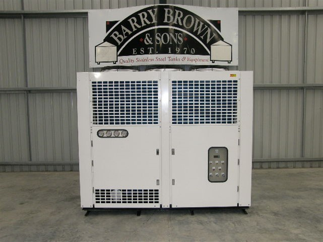 Stainless steel tank Air Cooled Water Chiller by Barry Brown & Sons in Victoria