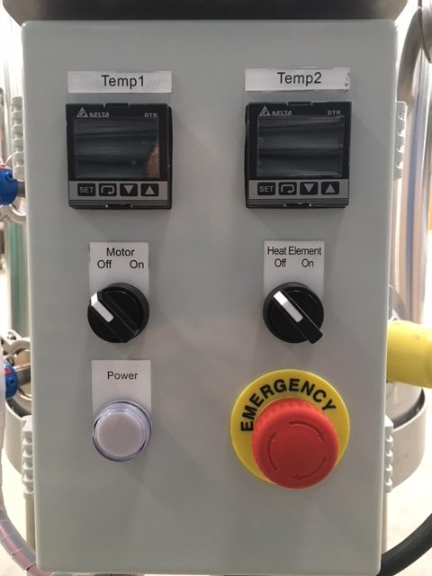 Mini Batch Pasteuriser 50lt Controls by Barry Brown & Sons in Victoria