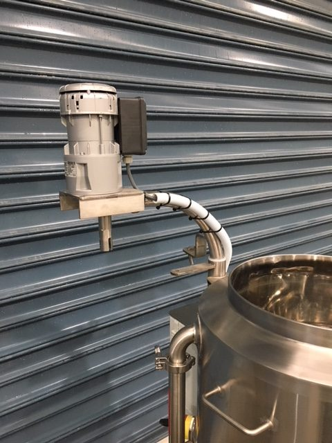 50lt Mini Batch Pasteuriser Top Setup by Barry Brown & Sons in Victoria