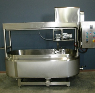 Stainless steel tank with controller by Barry Brown & Sons in Victoria