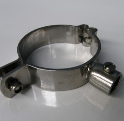 Food graded stainless steel tank Clamps and brackets by Barry Brown & Sons in Victoria