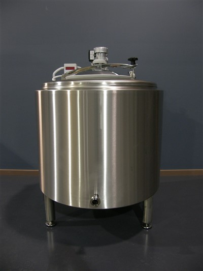 Stainless steel tank Front view by Barry Brown & Sons in Victoria