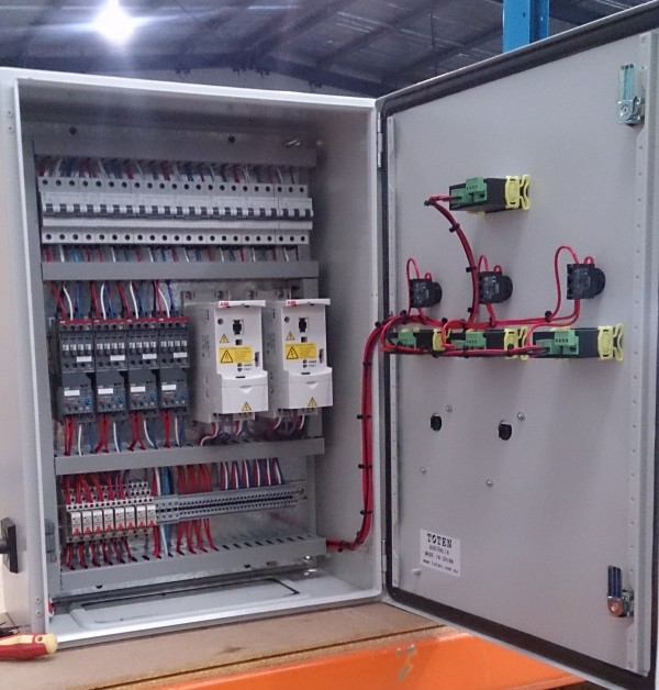 Control Panels Including Programmable Logic PLC And Variable Speed Drives VSD