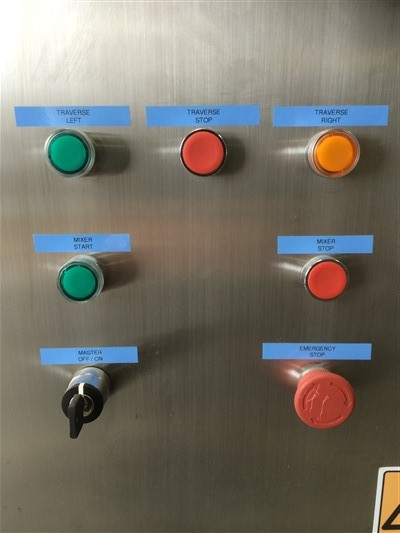 Stainless steel tank control panel by Barry Brown & Sons in Victoria