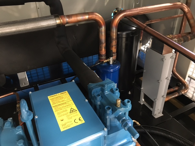 Compressor gas unit by Barry Brown & Sons in Victoria