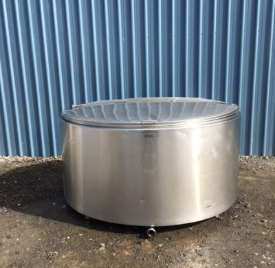 1800lt Jacketed Stainless Steel Tank by Barry Brown & Sons in Victoria