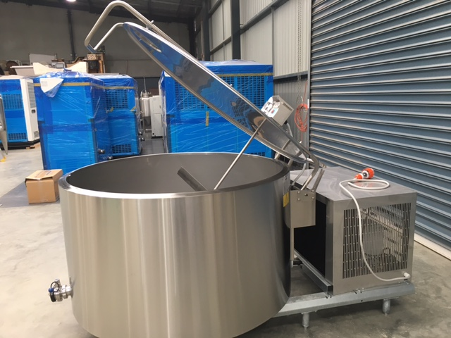1000lt NEW Refrigerated Food Grade Tank by Barry Brown & Sons in Victoria