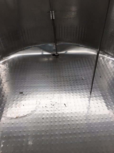 1350lt Jacketed Stainless Steel Tank Inner Bottom by Barry Brown & Sons in Victoria