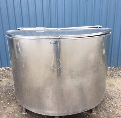 1600lt Insulated Stainless Steel Tank Front by Barry Brown & Sons in Victoria