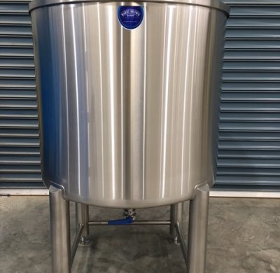 1000lt stainless steel tank front by Barry Brown & Sons in Victoria