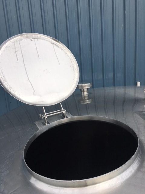 Stainless Steel Tanks Lid Open by Barry Brown & Sons in Victoria