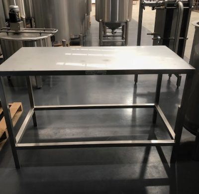 Stainless Steel Table for Tanks by Barry Brown & Sons in Victoria