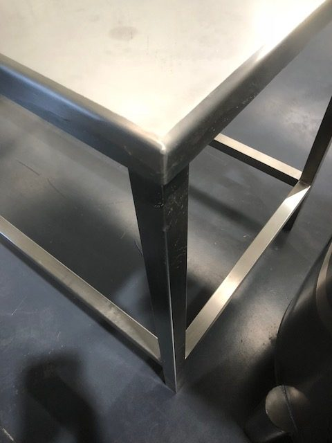Stainless Steel Table by Barry Brown & Sons in Victoria