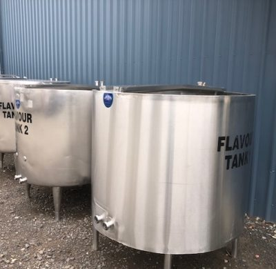 900lt Stainless Steel Tank For Sale by Barry Brown & Sons in Victoria