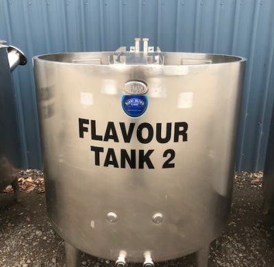 900lt Stainless Steel Tank Top Open by Barry Brown & Sons in Victoria
