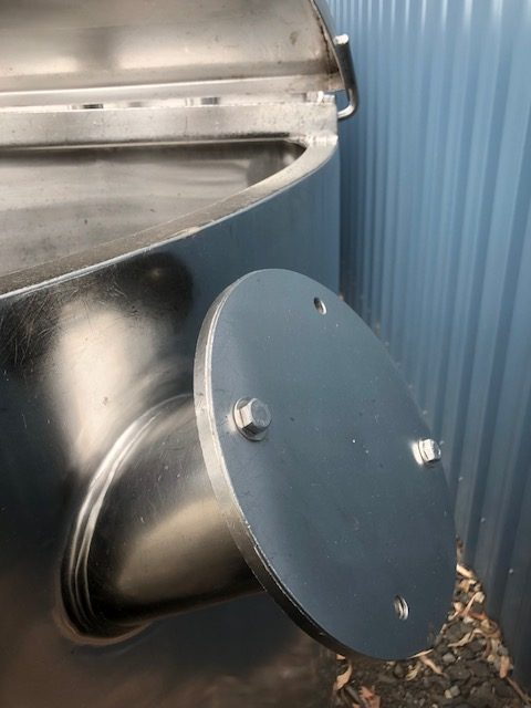 900lt Stainless Steel Tank by Barry Brown & Sons in Victoria