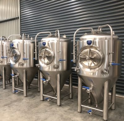 Fermenter 500lt NEW Insulated & Jacketed Stainless Steel Tank For Sale by Barry Brown & Sons in Victoria