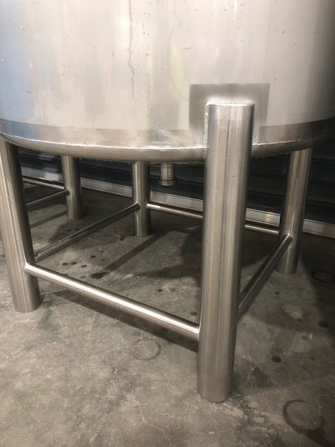 Stainless Steel Tank Stand Close View - Barry Brown & Sons in Victoria