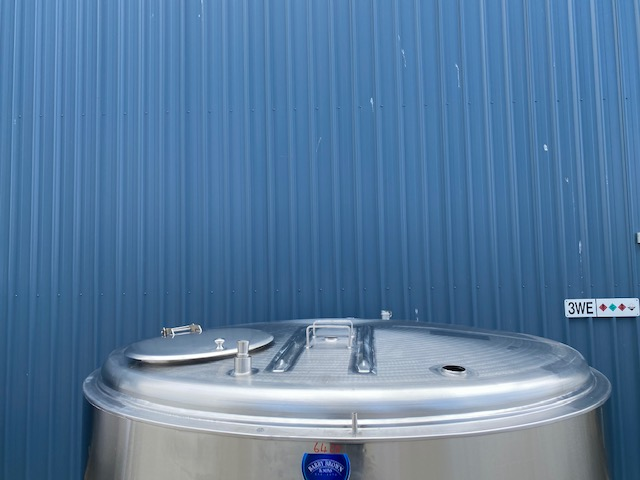 3,800lt Jacketed Stainless Steel Tank Top - Barry Brown & Sons in Victoria
