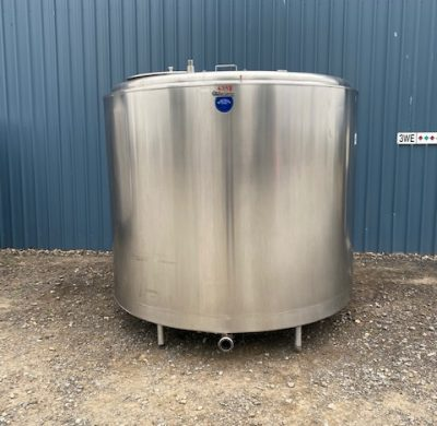 4,800lt Jacketed Stainless Steel Tank Full View - Barry Brown & Sons in Victoria