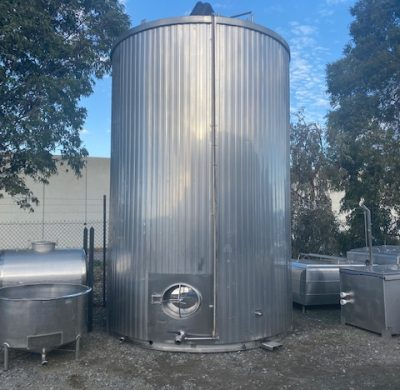 30,000lt Jacketed Stainless Steel Silo - Barry Brown & Sons in Victoria