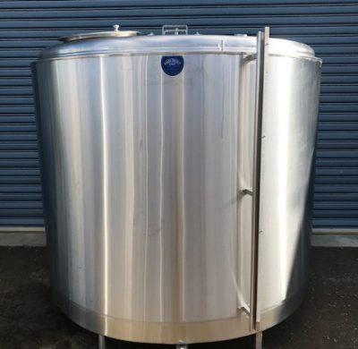 Stainless Steel Jacketed tank 4800Lt Front by Barry Brown & Sons in Victoria