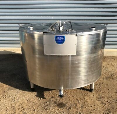 650 lt Jacketed Food Grade Stainless Steel Tank by Barry Brown & Sons in Victoria
