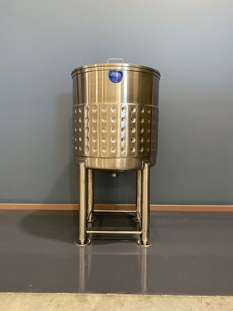 400lt Jacketed Stainless Steel Tank by Barry Brown & Sons in Victoria
