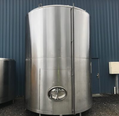 13,600lt Jacketed Stainless Steel Tank by Barry Brown & Sons in Victoria