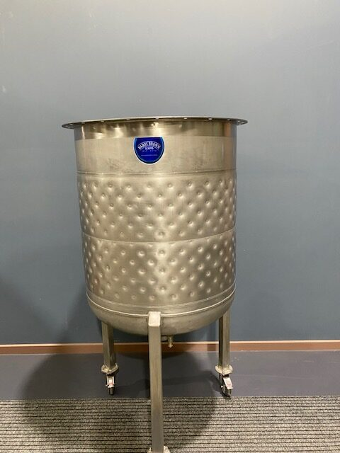 400lt Jacketed Stainless Steel Tank Front Full by Barry Brown & Sons in Victoria